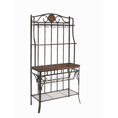 Powell Furniture Abbey Road Storage Baker's Rack