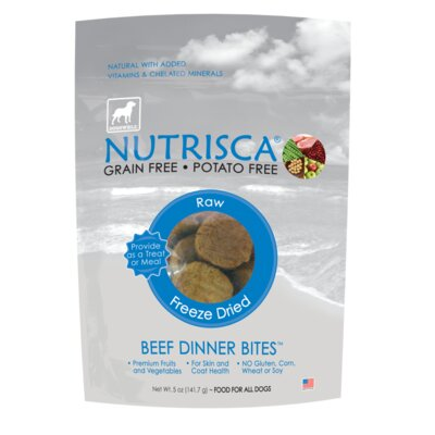 Dogswell Nutrisca Freeze Dried Dinner Bites Dog Treat