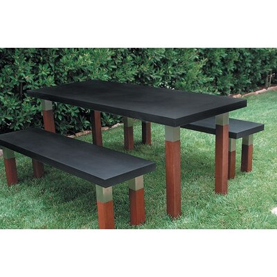 Modern Outdoor Kenji 3 Piece Dining Set