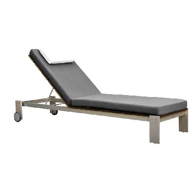 Modern outdoor chaise lounge 28 images hton modern for Adjustment bracket for chaise lounge