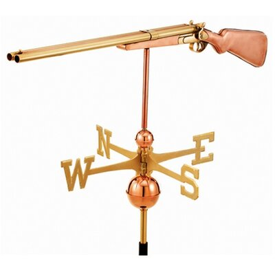Good Directions Full Size Weathervane Shotgun in Polished