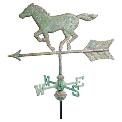 Good Directions Cottage Weathervane Horse