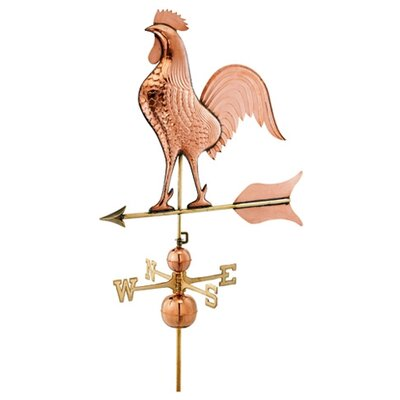Good Directions Signature Size Jumbo Rooster Weathervane