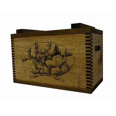 Evans Sports Standard Storage Box with Mule Deer Print
