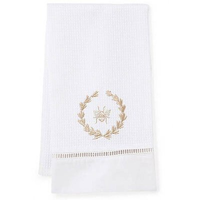 Jacaranda Living Bee Wreath Guest Towel