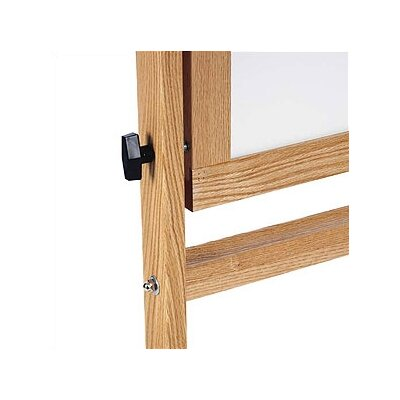 Marsh Freestanding Reversible Boards - Both sides Remarkaboard Markerboard - Oak Frame