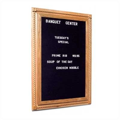 Marsh Navigator Center Series Combination Message Board - Oak