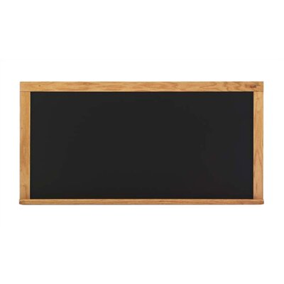 Marsh Deluxe Steel-Rite Chalkboards - Oak Frame