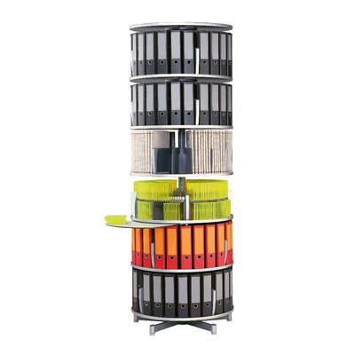 Empire Office Solutions Deluxe 6-Tier Rotary Binder Storage Carousel