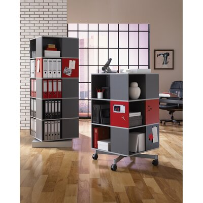 Empire Office Solutions Moll Spin and Store 5 Tier Carousel Shelving Unit