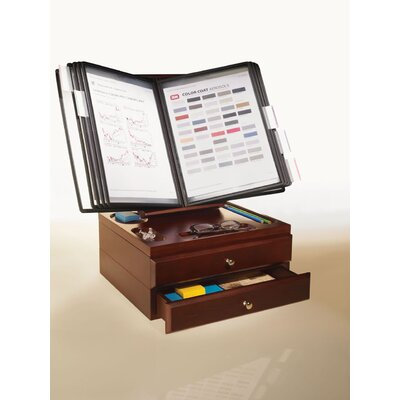 Empire Office Solutions Stack and Style Desktop Reference Organizer
