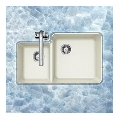 Solido Series Undermount 70/30 Double Bowl Sink