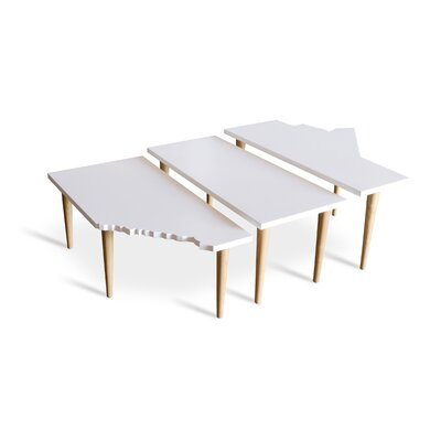 Gus Modern Prairie 3 Piece Nesting Tables