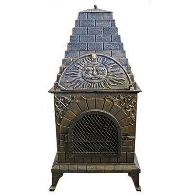 Deeco Aztec Allure Pizza Oven Outdoor Fireplace