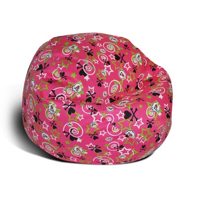 Stars and Bones Junior Bean Bag Chair