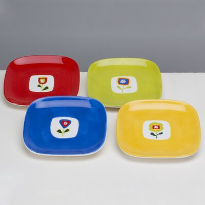 Omniware Jardin Assorted Plates (Set of 4)