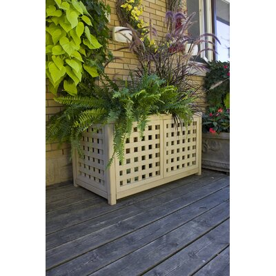 Yardistry Large Lattice Planter