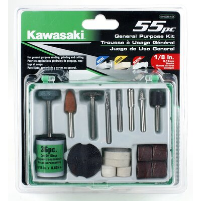 Kawasaki 55 Piece General Purpose Asset