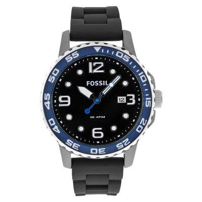 Ceramic Men's Watch in Black