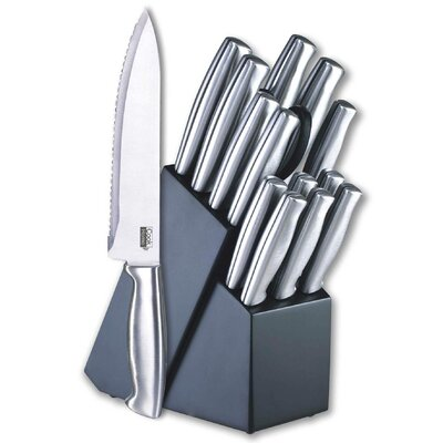 15 Piece Cutlery Never Need Sharpening Blade Block Set