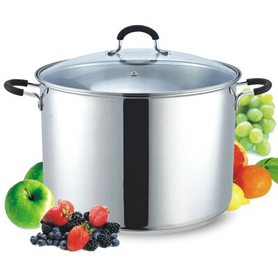 Stainless Steel Canning Pot and Stockpot with Lid
