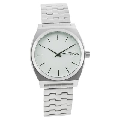 Nixon Men's Time Teller Watch with White Dial