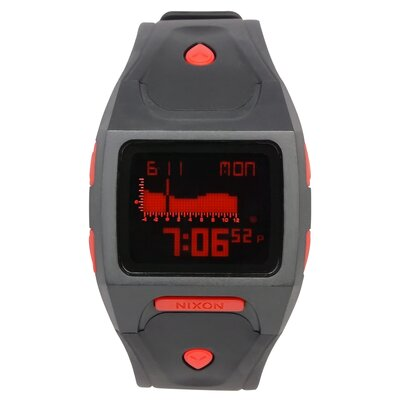 Nixon Men's Lodown Plastic Watch