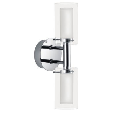 EGLO Palermo 2 Light Wall Sconce