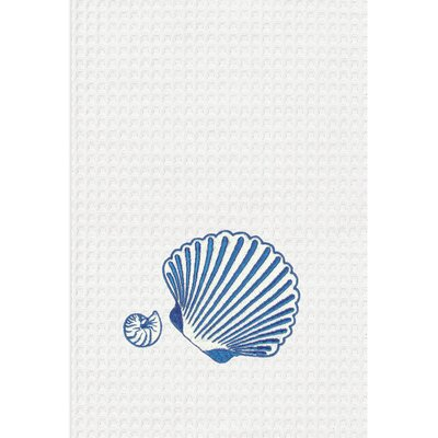 C & F Enterprises Shell Kitchen Towel (Set of 2)