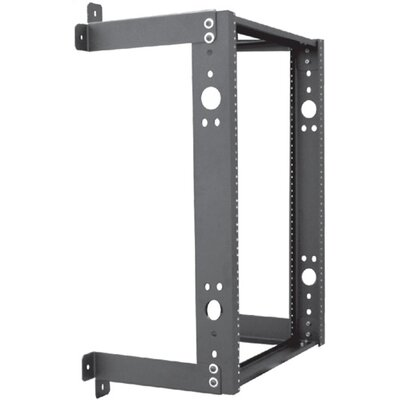 "Quest Manufacturing 12""D Open Frame Wall Mount with Fixed Design - 13 RU"