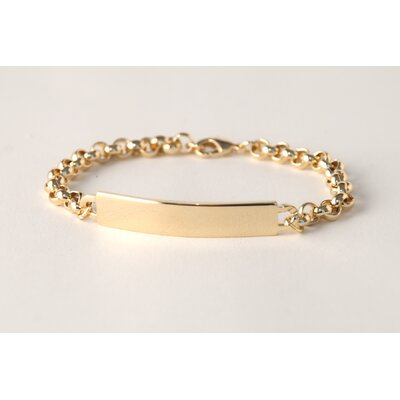 Speidel Ident Ladies Small Square ID Bracelet