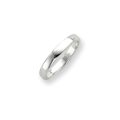 Jewelryweb Sterling Silver Flat Band Ring