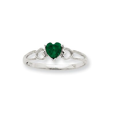 10k Heart Cut Ring