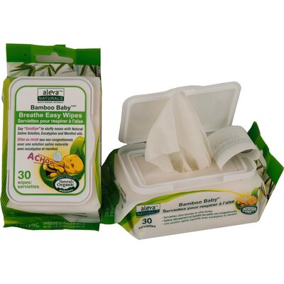 Aleva Bamboo Baby Breathe Easy Wipe