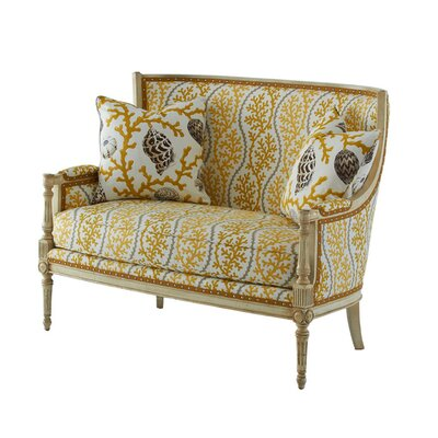 Massoud Furniture Splendor Settee Loveseat