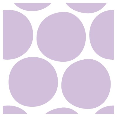 Avalisa Pattern - Big Dots Stretched Wall Art