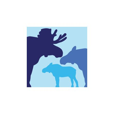 Avalisa Animal - Moose Stretched Wall Art