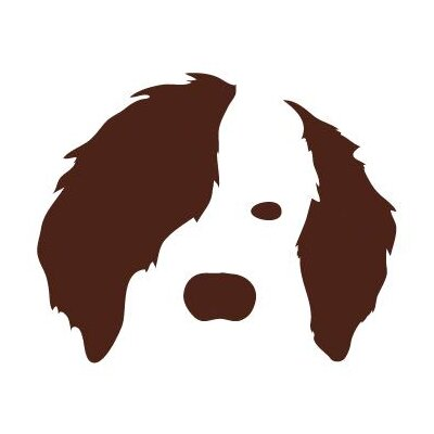 Avalisa Animal Face - Dog Stretched Wall Art