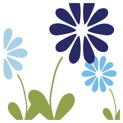 Avalisa Imagination - Simple Floral Stretched Wall Art