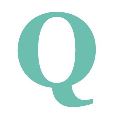 Avalisa Letter - Upper Case 'Q' Stretched Wall Art