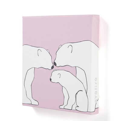 Avalisa Animal - Polar Bears Stretched Wall Art