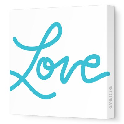 Avalisa Imagination - Love Stretched Wall Art