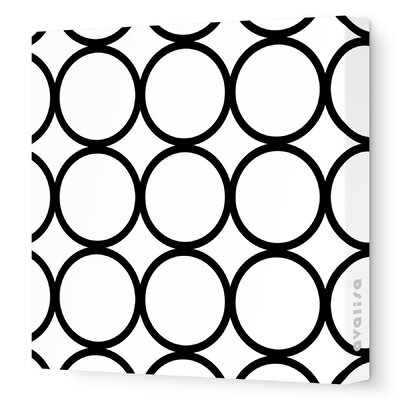Avalisa Pattern - Circles Stretched Wall Art