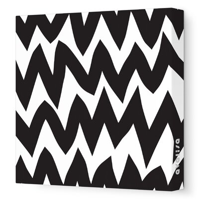 Avalisa Pattern - Zig Zag Stretched Wall Art