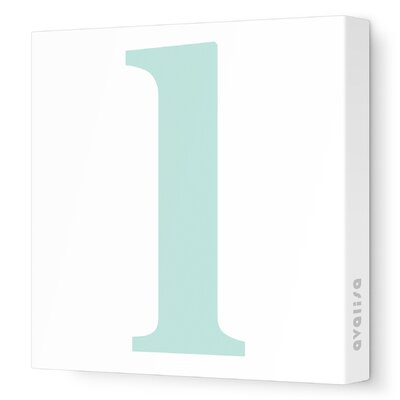 Avalisa Letter - Lower Case 'l' Stretched Wall Art