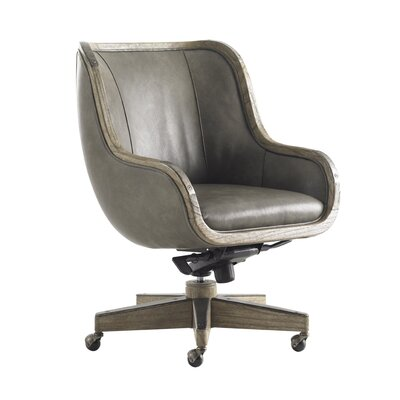 Sligh Barton Creek High-Back Leather Fischer Office Chair