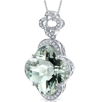 Oravo Lilly Cut Gemstone Pendant