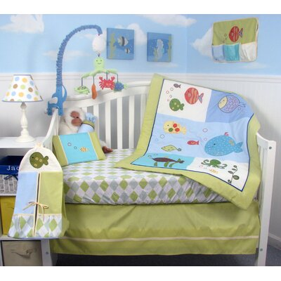 Soho designs wayfair for Fish crib bedding