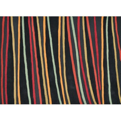 Loloi Rugs Aurora Black Striped Rug