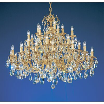 Classic Lighting Princeton 36 Light Chandelier